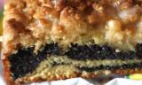 Mohn-Striezel / poppyseed cake
