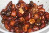 pikante geröstete Nüsse / spicy roasted nuts