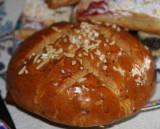 Osterfladen / German Easter dough-cake