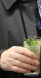 Cocktail mit Basilikum / cocktail with basil