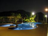 Pool in Moon Shine