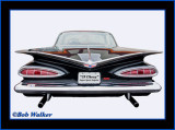 The 1959 Chevy Impala Super Sport's Unique Design