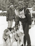 George Attla Getting His Team Ready To Go Up To The Line