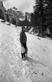Snow in the Grand Teton Mountains