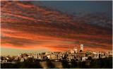 Paul de Vence at sunset