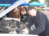 Vo-Tech Teens Help at Car Care Fair