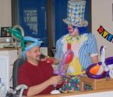 Birthday Clown Ambust at City Hall