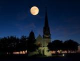 Moon Rise, a photoshopped image