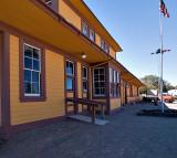 The Fernley NV Train Depot