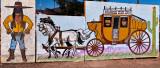 Seen outside the Holbrook, AZ visitors center