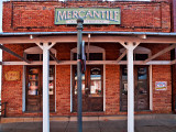 This fine old mercantile bldg was spotted in Nacogdoches, TX.