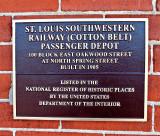 The Cotton Belt Depot