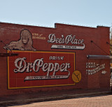 This nostalgic wall is in Corsicana, TX