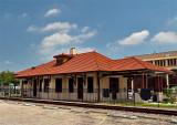 Kingsville TX train Depot