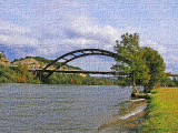 Loop 360 bridge photoshopped