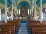 A painted church, Dubina, TX
