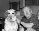 Tikwa and Steve Barbour (photo Wayne Serrano)