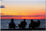 Sunset Watchers at Westmeadow Beach