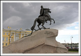 Storm over Peter the Great