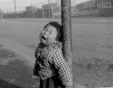 Child during the Korean War 1952