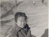 Korean child in 1952 during war