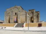 Romanic style Iglesia de Santa Maria la Blanca (XIII c) built by templars in Villalcazar de Sirga