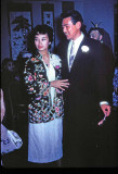 Juanita's wedding reception - 1957