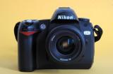 Nikon D70 with Nikkor 2,0/35mm AF