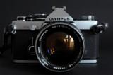 Olympus OM 2 with Zuiko 1,2/55mm