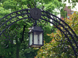 Lamp at Rutgers Arch