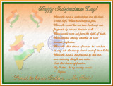 Happy Independence Day to all Indians!