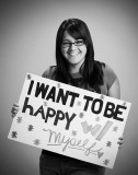 happy w/self