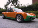 Dr. Dirk Baumann (Germany) 72' Porsche 914-6 GT Project - sn 914.243.0079