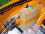 Oil Overflow Bottle and Metal Bracket