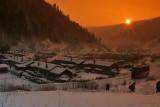 Winter wonderland in NorthEast part of China