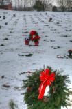 Wreaths Across America  at Indiantown Gap National Cemetery