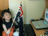 Charlie on Australia Day – 1