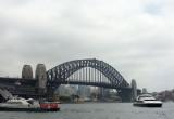 Sydney Harbour Bridge, and Ferries in Sydney Cove