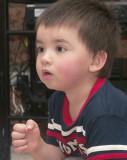 Charlie, aged three