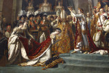 Jacques-Louis David Coronation of Napoleon -  detail - 1807.jpg