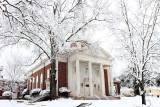 First Presbyterian Church Tyler, Texas - Snow Pictures-  February 11,  2010