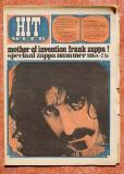 Hitweek no1, 1967 Frank Zappa special
