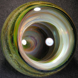 This is a MASSIVE vortex marble that you truly need to hold in your hands to appreciate.