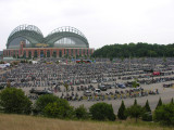 Miller Park in Milwaukee - Harley-Davidson 105th Classic, 8/28/08