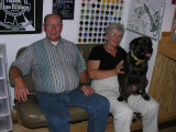 Mom and Dad and the Dog!