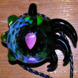 Coolest pendant I've EVER seen, literally.  2nd place in boro bead.