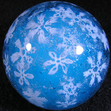Snowflakes on Ice Size: 1.57 Price: SOLD