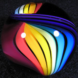 Rainbow Ribbon Size: 1.46 Price: SOLD