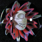 John Kobuki & Bob Snodgrass: Skull Blossom Size: 1.53 Price: SOLD