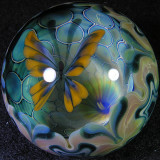 Travis Weber and Linh Le: Butterfly Wishing Size: 1.68 Price: SOLD
